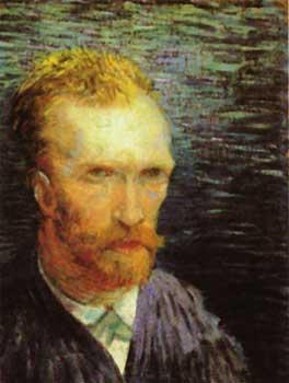 l autoportrait de van gogh