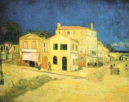 Van Gogh oeuvres commentees : Maison jaune