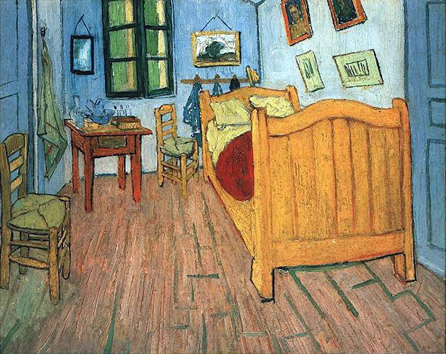 Van gogh oeuvres commentees chambre for Tu me chambres